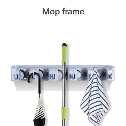 Cafopgrill wandbalaihouder, houder voor kleding en paraplu, veelzijdig inzetbaar voor organizer en haken
