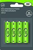 Smart Solar AA 600mAH Rechargeable Batteries