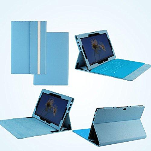 Navitech Custodia protettiva in pelle sintetica Microsoft Surface Pro 64GB/ 128GB Windows8 (non adatto a Surface RT) Nero