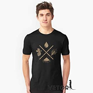 Camisa Camiseta Masculino Blusa Ingredientes Cerveja Caseira