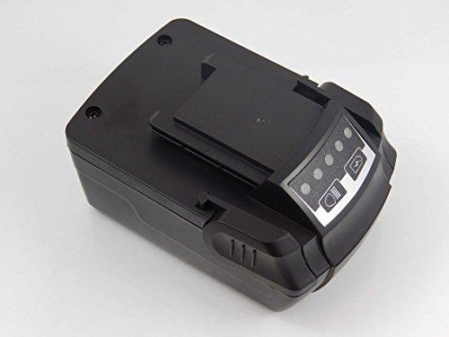 INTENSILO Batterie remplacement pour Kress 12310127, APF 144/4.2 pour outil électrique (5000mAh Li-ion 14,4V)