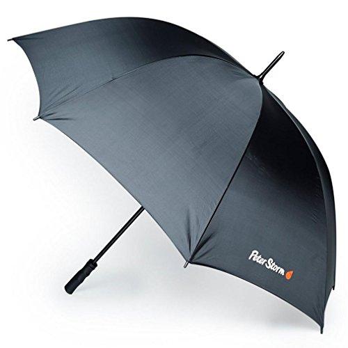 Peter Storm Golf Umbrella, Black, One Size