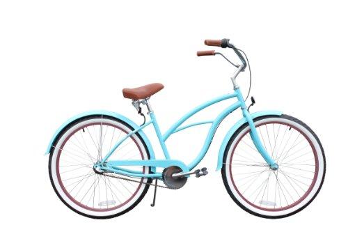 sixthreezero Women's 3-Speed Beach Cruiser Bicycle, Teal...