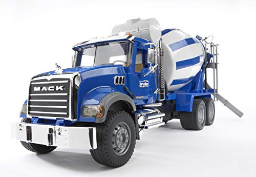 Bruder 02814 Mack Granite Cement Mixer Truck
