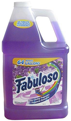 Fabuloso 4307 Long Lasting Fragrance, 1 Gallon, Lavender