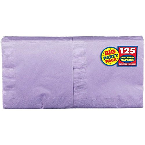 Lavender Big Party Pack Luncheon Napkins | Pack of 125 | Party Supply