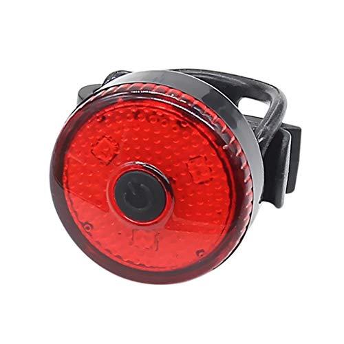 M-JJZX Fahrrad Rücklicht USB OPLAADBARE LED wasserdichte Sicherheit Warnlicht Outdoor Fietsen Fiets Accessorie Mountainbike Licht