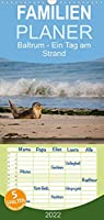 Baltrum - Ein Tag am Strand - Familienplaner hoch (Wandkalender 2022 , 21 cm x 45 cm, hoch): Baltrum - Ein Tag am Strand (Monatskalender, 14 Seiten )