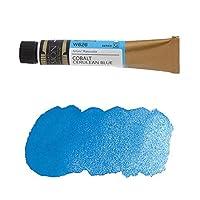 ミッションゴールドクラス 水彩絵具 (青色系) コバルトセルリアンブルー 7mL (W626)g (mission gold class water color) [ 透明水彩絵具 専門家用 アーチスト 画材 絵画 水彩画 透明 水彩絵の具 えのぐ 単色 ]