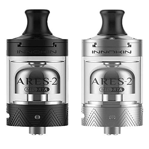 PREZIOSI CONTRO IL FUMO E  Innokin Ares 2 D24 atomizzatore Silver 4ml - Versione Italiana