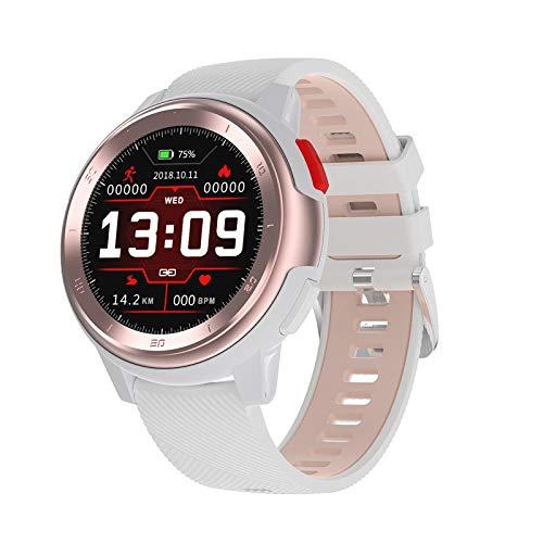 Smart Watch überwacht Herzfrequenz, EKG, Blutdruck, Blutsauerstoff & 22 Arten von Wählscheiben