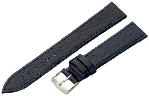 Morellato cinturino in pelle uomo BIRMINGHAM blu 18 mm A01U1563821062CR18
