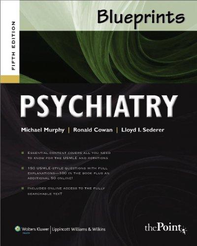 Psychiatry (Blueprints)
