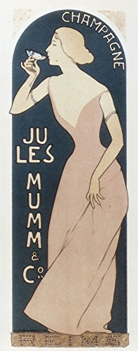 Champagne Jules Mumm and Co (1894) Poster Drucken (60,96 x 91,44 cm)