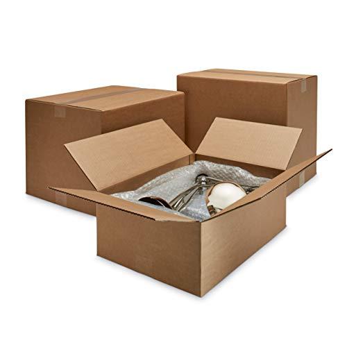 ratioform 10 Unità - Scatola Di Cartone 40 x 30 x 30 cm - Scatolone per trasloco e imballaggi a doppia onda