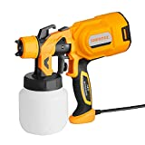 Shentec Paint Sprayer, 650w Electric Paint Gun Spray Gun Home with 800ml Detachable Tank,Widely Used for Fence, Cabinet, Home Painting