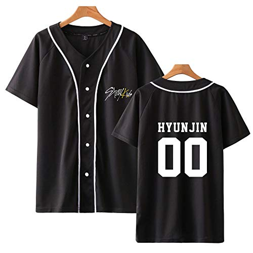 Stray Kids Camiseta KPOP StrayKids Yellow Wood Verano Corta Blusa Changbin Hyunjin...