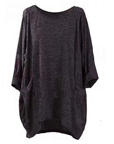Morton PegfwaS - American Football-T-Shirts für Mädchen in Dark Gray, Größe S