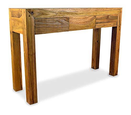 livasia Java Anrichte aus recyceltem Teakholz | Sideboard aus Massivholz | Highboard der Marke Asia Wohnstudio | Beistelltisch | Konsolentisch aus Vollholz (Handarbeit)