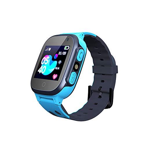 Smooce Kinder Smartwatch LBS Tracker,Touch LCD Kid Smart Watch mit Taschenlampen Anti-Lost Voice Chat für 3-12 Jahre alt Jungen Mädchen Geburtstagsgeschenke