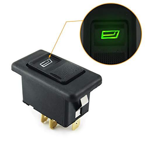 20A universal 5pines Botón Elevalunas Interruptor
