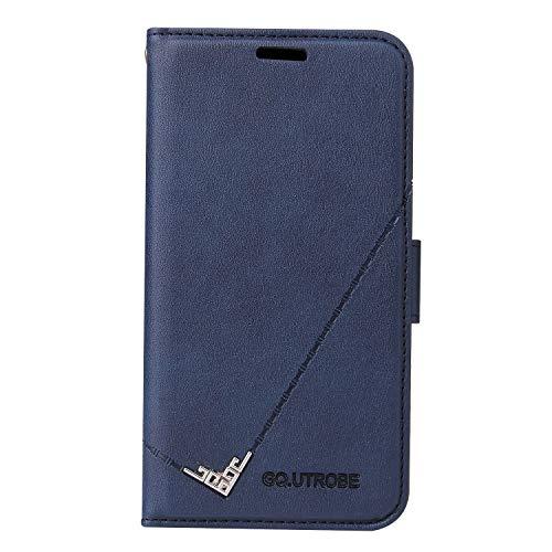 Hülle für Galaxy Note 8 Hülle Handyhülle [Standfunktion] [Kartenfach] Schutzhülle lederhülle flip case für Samsung Galaxy Note8 - DEYTB010273 Blau