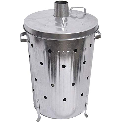 Trendi® FIRE INCINERATOR Fast Burner Holes All The Way Up for Paper and Garden Rubbish