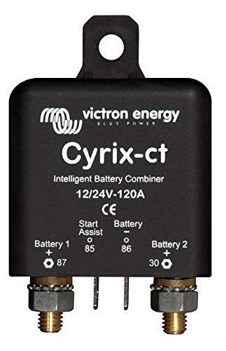 Victron Energy - Coupleur de batteries intelligent, Cyrix-CT 12/24V 120A