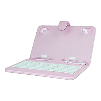 Impecca Mini Keyboard Case & Stand for 7  Tablets Pink  PCK-710P