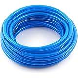 Sylix Pneumatic Air Compressor Tubing PU Hose Tube Pipe, 25 m 82 ft/12 x 8 mm, Blue (50)