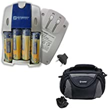 Samsung WB110 Digital Camera Accessory Kit includes: SB257 Charger, SDC-26 Case