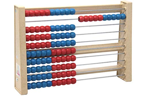 Wissner Wissner080203.500 RE Wood 100 Students Abacus