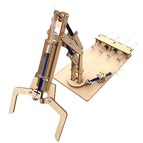 WOVELOT Brazo Mecánico Hidráulico DIY Modelos y Juguetes de Construcción Ciencia & Educación Modelo de Juguete para Juguete de Regalo de Cumplea?os de Navidad de Ni?os para Ni?o