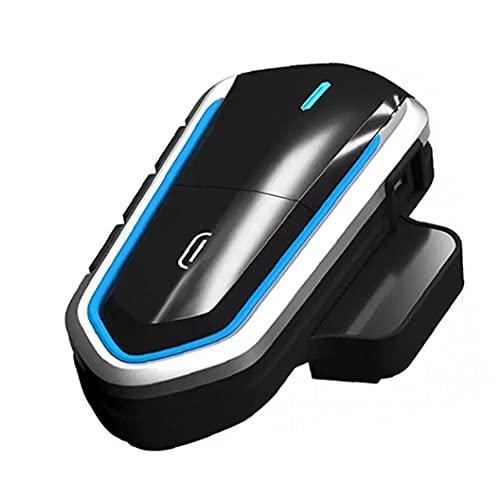 Accessori moto auricolare del casco auricolare Bluetooth del motociclo impermeabile Radio FM Wireless Helmet Headset Hands Free Call 2 4GHZ Audio