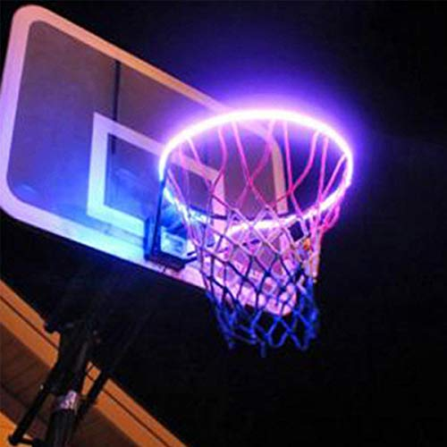 DaMohony Basketball Hoop Light Waterproof Glow-in-Dark Basketball Hoop...