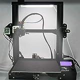 Tresbro Led Light for 3D Printer, Ultra-Thin Led Lamp Bar 8.8'5V with USB Interface, Removable Magnets Design, with 3 Colors 10 Brightness Levels, Suitable for Ender3/3Pro/3V2/5,Cr-10/10S/10 S4/10 V2