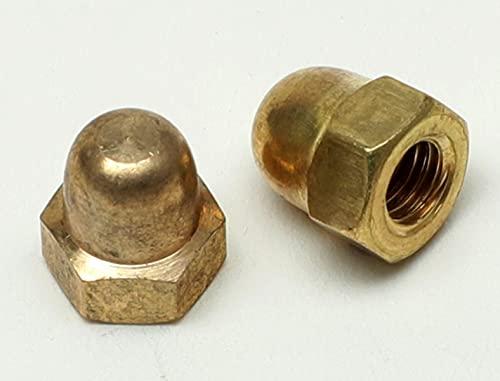 5 pièces écrous borgnes - laiton DIN 1587 (Laiton, M3)