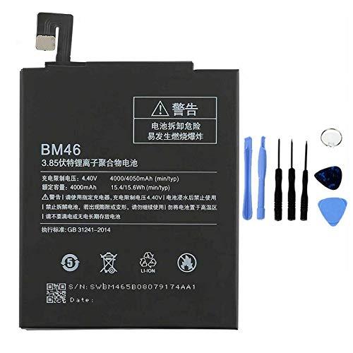 Ellenne Batería compatible con Xiaomi BM46 para Redmi Note 3/3 Pro, alta capacidad, 4050 mAh, con kit de desmontaje incluido
