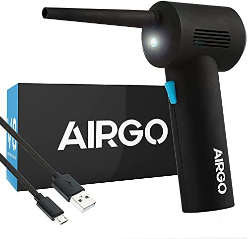 IT Dusters AIRGO Mini aspirapolvere senza fili ricaricabile per PC, laptop, console, elettronica e pulizia domestica, alternativa ecologica ai contenitori...