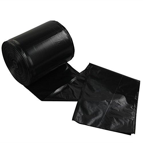 Lesbye Müllbeutel 5 L, Schwarz, 125 Stück, Kleiner Abfalleimer Müllbeutel