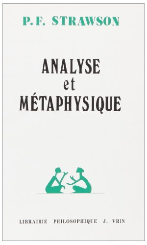 Analyse Et Metaphysique (Problemes & Controverses) (French Edition)