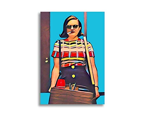 Mad Men Card Peggy Olson Poster/Postcard 5x7 inch w/Envelope