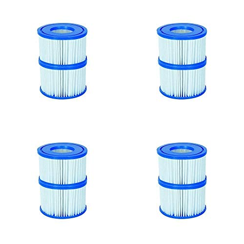 Bestway Flowclear Gr. VI Filterkartusche für Lay-Z-Spa Miami, Vegas, Palm Springs, Monaco 8 Filters