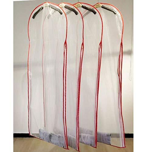 Jurk Tas Bruidsjurk Lange Kleding Tassen Protector Case Stofdicht Cover Trouwjurken Kledingstuk Kleding Stofkap 180cm