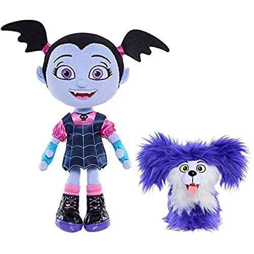 ZHYGDQ Peluches muñecos de Peluche Juguetes de Peluche Estudiantes de Secundaria 2pcs 1425cm de Dibujos Animados Vamp Girl Dog Toy