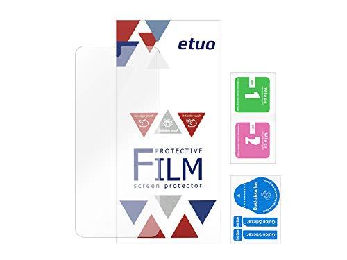 etuo Bildschirmschutzfolie für Xiaomi Poco X3 NFC - Bildschirmschutzfolie Bildschirmschutzfolie 3H Folie Schutzfolie Bildschirm Display Schutz