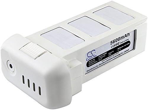 通販 Replacement Battery for DJI 5600mAh 2 Phantom 秀逸 Vision