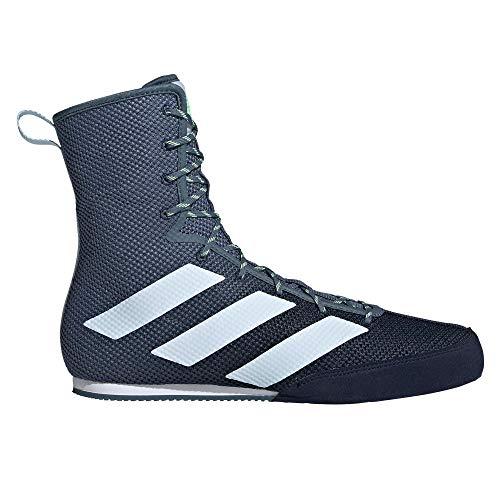adidas Box Hog 3 - Botas de boxeo, color azul marino, color Azul, talla 40 EU