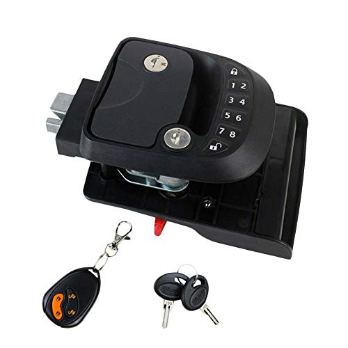 Summit Security - RV Keyless Entry Door Handle with Keypad and Deadbolt Compatible with Trailers, Campers, 5th Wheel, Class A, Class C