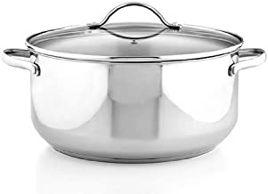 Tools of the Trade Stainless Steel 8 Qt. Covered Casserole
